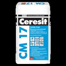 Клей для плитки Ceresit CM 17, 25 кг